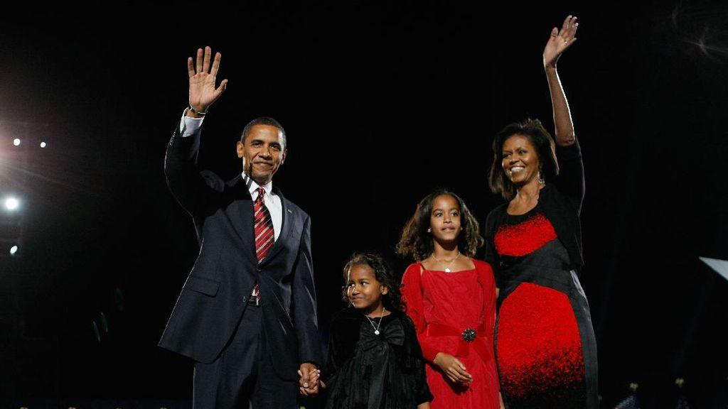 Foto: Natal ala Selebriti Dunia, Jennifer Lawrence Hingga Obama