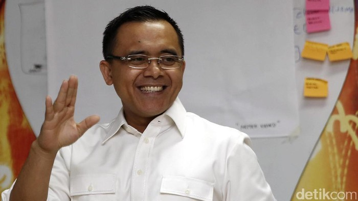 Bupati Banyuwangi Abdulah Azwar Anas mendatangi kantor detikcom Jakarta, Rabu (11/1/2017)