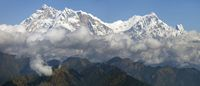 Ilustrasi wisata di Nepal