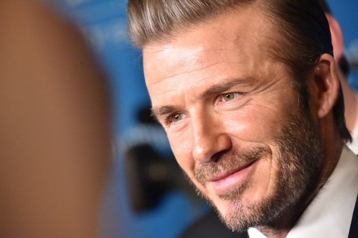 NEW YORK, NY - DECEMBER 12:  UNICEF Goodwill Ambassador David Beckham attends UNICEFs 70th Anniversary Event at United Nations Headquarters on December 12, 2016 in New York City.  (Photo by Mike Coppola/Getty Images)
