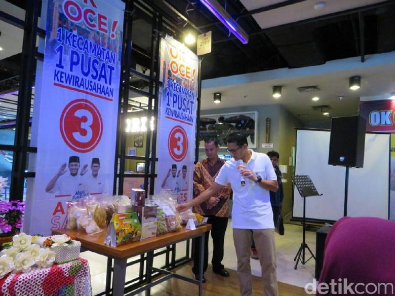 Kakak Sandiaga akan Pimpin Program OK OCE, Dapat Dana APBD Rp 1,5 M