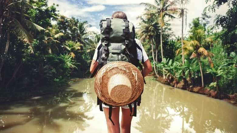 Ilustrasi solo traveling (Thinkstock)