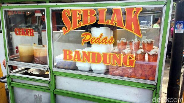 Ilustrasi seblak Bandung