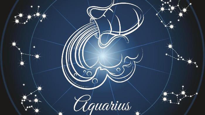Ilustrasi Karakter Zodiak Aquarius Foto Thinkstock