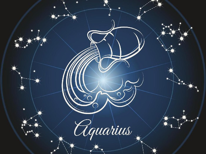 Ilustrasi zodiak Aquarius. Foto: Thinkstock