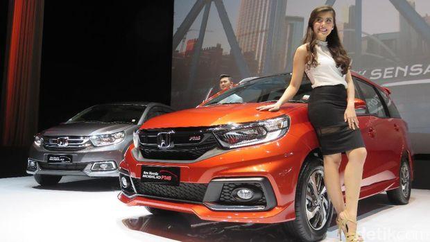 Honda Mobilio saat diluncurkan Januari lalu