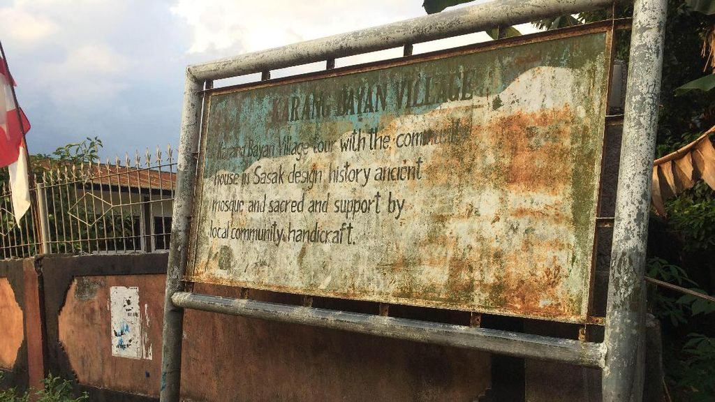Potret Desa Adat Karang Bayan di Lombok yang Kini Mati Suri