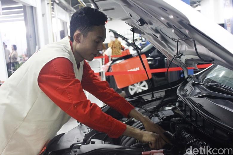 Bengkel Nissan. Foto: Nissan