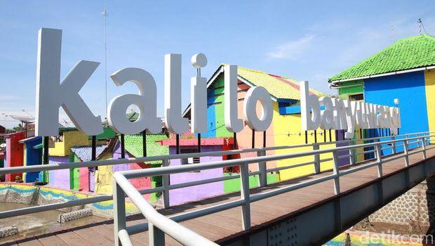 Bantaran Sungai Kalilo mulai ramah wisatawan (Putri Akmal/detikTravel)