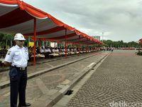 Kapolri Hadiri Peringatan HUT ke-36 Satpam di Silang Monas