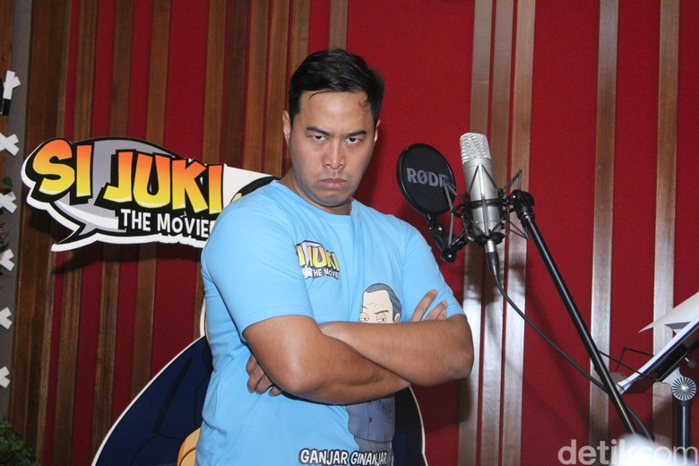 Pandji Pragiwaksono Tak Grogi Saat Isi Suara untuk Si Juki The Movie