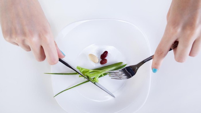 Kesalahan diet yang kerap dilakukan dan dapat merusak tubuh. Foto: Thinkstock