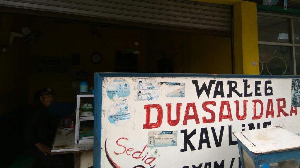 Becak dan Asal-usul Menjamurnya Warteg di Jakarta
