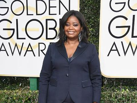 BEVERLY HILLS, CA - JANUARY 08:  Actress Octavia Spencer attends the 74th Annual Golden Globe Awards at The Beverly Hilton Hotel on January 8, 2017 in Beverly Hills, California.  (Photo by Frazer Harrison/Getty Images)