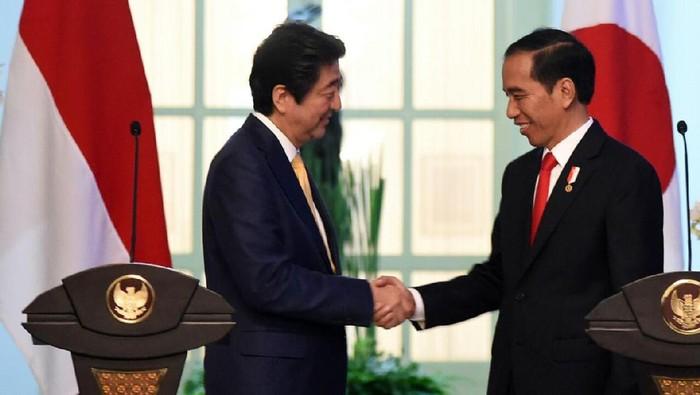 jokowi dan shinzo Abe