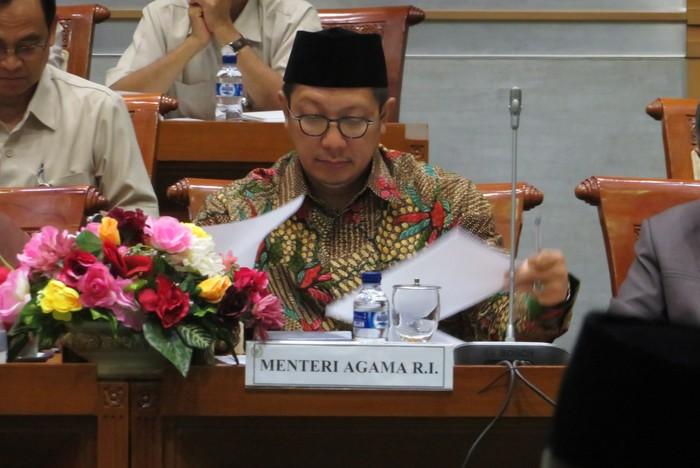 Menag Lukman Hakim Saifuddin (Andhika Prasetya/detikcom)
