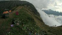 Sampah Plastik Masih Dominasi Gunung dan Taman Nasional