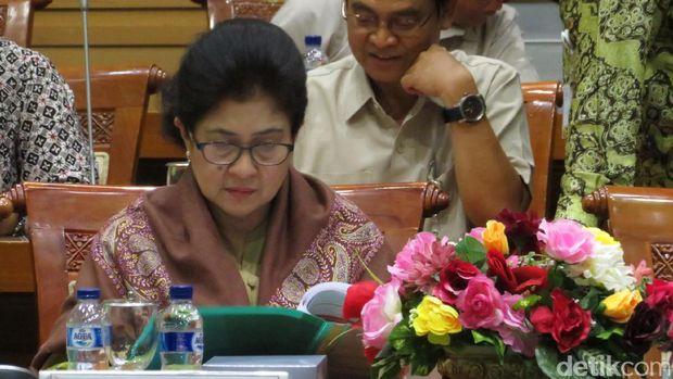 Menkes rapat evaluasi haji 2016 di Komisi VIII DPR