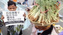 Demo Tolak Pembangunan PLTU Batubara II Indramayu