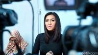 Denada saat ditemui di Studio Trans TV, Kapten Tendean, Jakarta Selatan pada Selasa (17/1/2017). Pool/Noel/detikFoto.