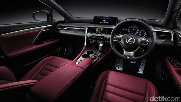 Interior Lexus RX 200t F SPORT