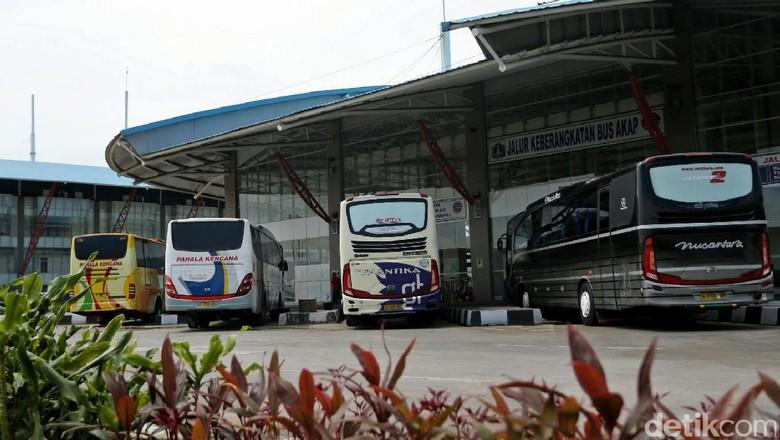 Terminal Pulogebang di Jakarta Timur (Agung Pambudhy/detikcom)