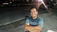 Irfan Heri Effendi, pemilik kedai Pondok Durian (Wahyu/detikTravel)