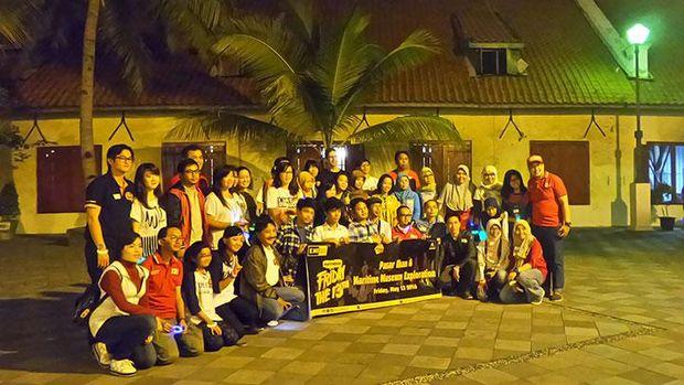 Siapapun bisa mengikuti wisata malam ini dengan mendaftar di situs resminya (dok Indonesia Heritage Trails)