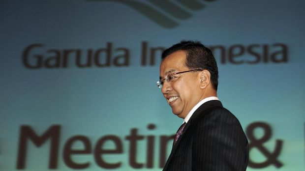 Eks Dirut Garuda Indonesia Emirsyah Satar sudah dua tahun menyandang status tersangka.