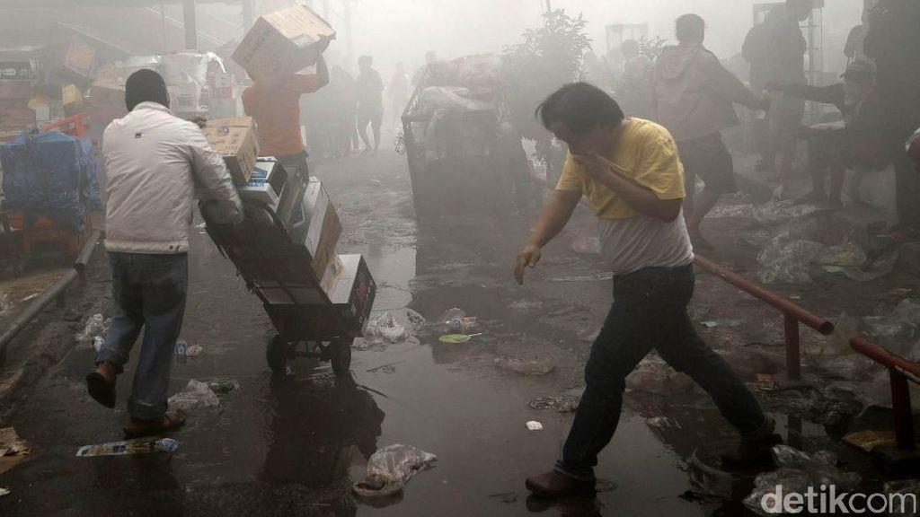 Kebakaran di Pasar Senen, Pedagang Ini Mengaku Rugi Rp 5 Miliar