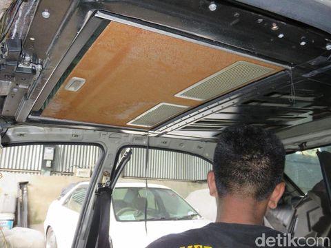 610 Koleksi Modifikasi Plafon Mobil Angkot HD