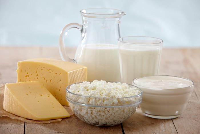 konsumsi susu dan keju di amerika