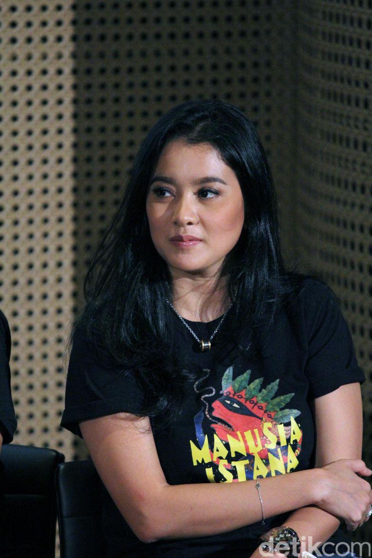 Marcella saat ditemui di Galeri Indonesia Kaya, Jakarta Pusat belum lama ini. Hanif Hawari/detikHOT