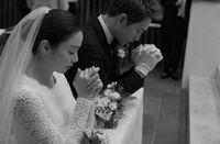 Gaun Pengantin Kim Tae Hee Saat Menikah dengan Rain