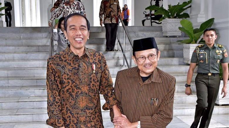 Jokowi Pimpin Upacara Pemakaman BJ Habibie di TMP Kalibata Siang Nanti