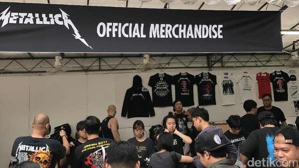 Antusias Para Metalhead Jelang Konser Metallica di Singapura