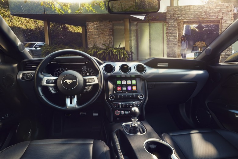 Interior Ford Mustang. Foto: Ford