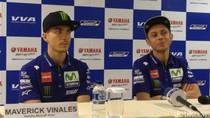 Sedihnya Vinales Bakal Berpisah dengan Rossi di Yamaha
