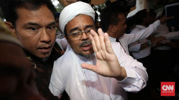 Ma'ruf Puji KJRI Bebaskan Rizieq Shihab di Arab Saudi