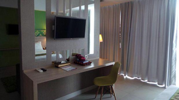 Kamar Pesonna Hotel Pekanbaru dilengkapi alat-alat salat (Wahyu/detikTravel)