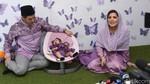 Nindy dan Calon Suami Fitting Baju Pernikahan