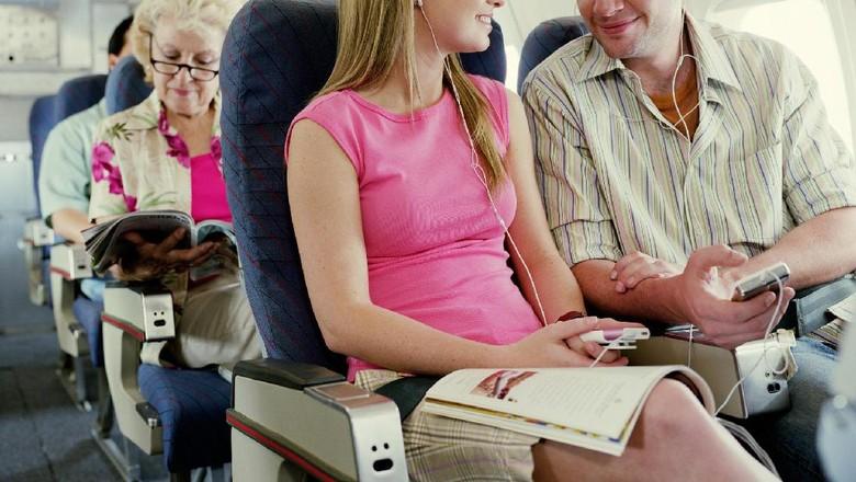Ilustrasi penumpang pesawat (Thinkstock)