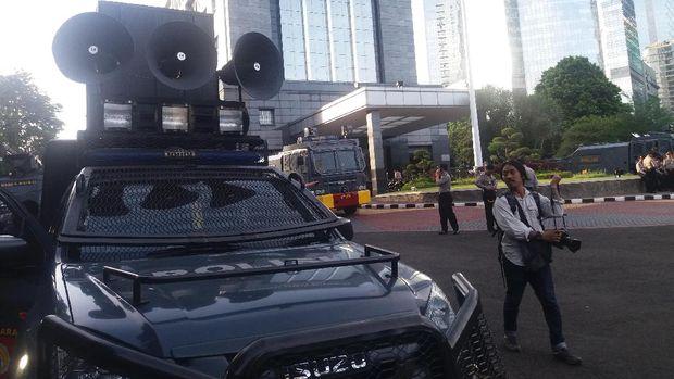 Arus lalu lintas masih terpantau lancar menjelang demo FPI.