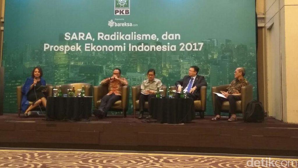 Isu SARA dan Radikalisme Tak Pengaruhi Ekonomi RI