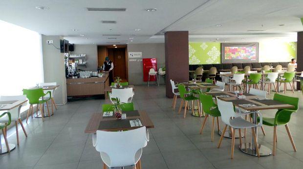 Pesonna Cafe yang ada di lantai 1 hotel (Wahyu/detikTravel)