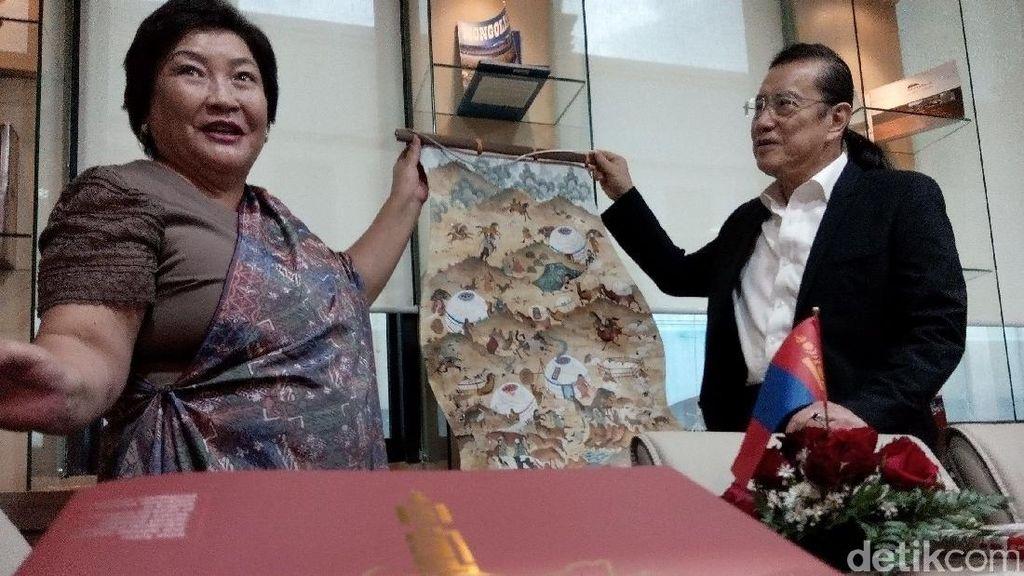 RI Ekspor Mie Instan Hingga Teh ke Mongolia