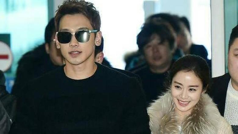 Rain dan Kim Tae Hee (Foto: ist)