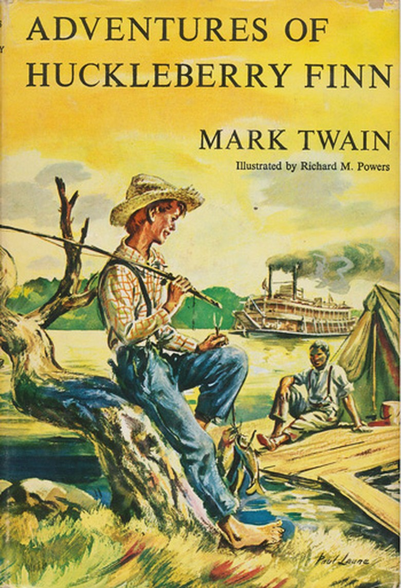 an examination of the narrative voice of huck finn in the novel of mark twain