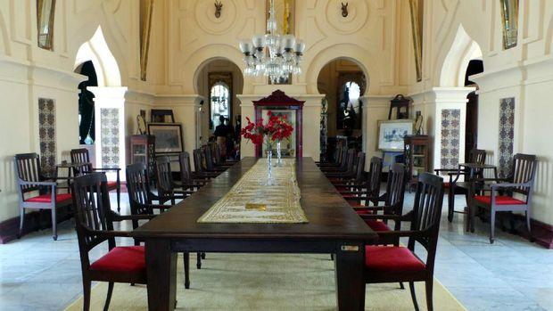 Ruang tempat sultan menerima tamu (Wahyu/detikTravel)