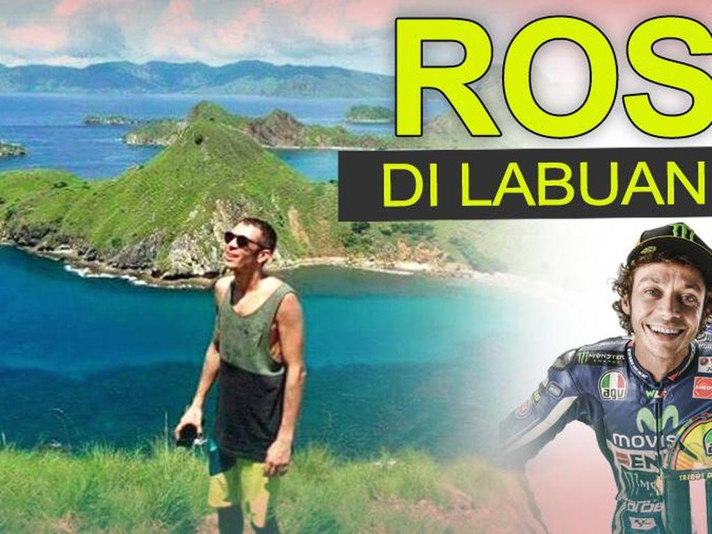 Valentino Rossi di Labuan Bajo